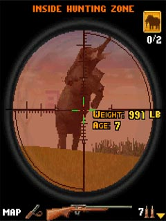 Mobile game Big Range Hunting 3D - screenshots. Gameplay Big Range Hunting 3D