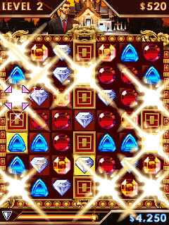 Mobile game Diamond Twister - screenshots. Gameplay Diamond Twister