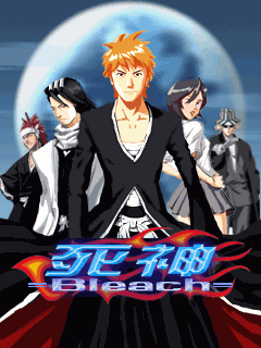 Mobile game Bleach - screenshots. Gameplay Bleach