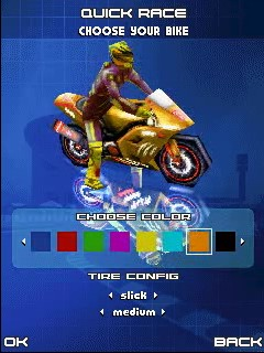 Mobile game 3D Moto Racing Evolved - screenshots. Gameplay 3D Moto Racing Evolved