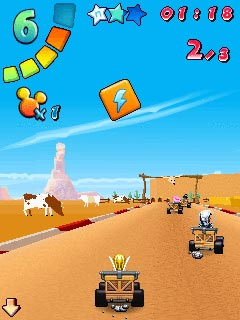 Mobile game Disneyland Kart Racer - screenshots. Gameplay Disneyland Kart Racer