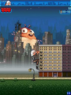 Mobile game Monsters vs. Aliens The Mobile Game - screenshots. Gameplay Monsters vs. Aliens The Mobile Game