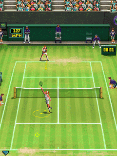 Mobile game Wimbledon 2009 - screenshots. Gameplay Wimbledon 2009