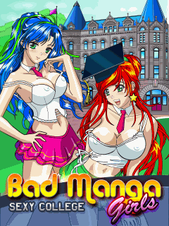 Mobile game Bad Manga Girls: Sехy College - screenshots. Gameplay Bad Manga Girls: Sехy College