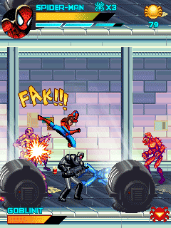 Mobile game Spiderman: Toxic City - screenshots. Gameplay Spiderman: Toxic City