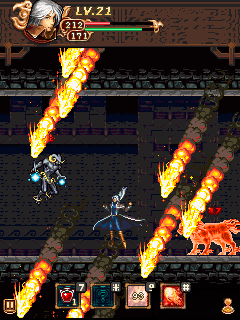 Mobile game Castlevania: Reincarnation - screenshots. Gameplay Castlevania: Reincarnation