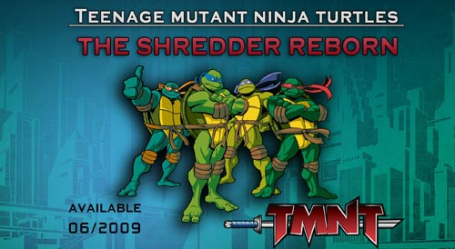TMNT: The Shredder Reborn - java game for mobile. TMNT: The ...