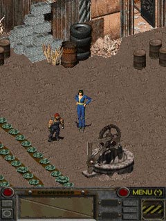 Mobile game Fallout - screenshots. Gameplay Fallout