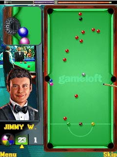 Mobile game Jimmy Whites: Snooker Legend - screenshots. Gameplay Jimmy Whites: Snooker Legend