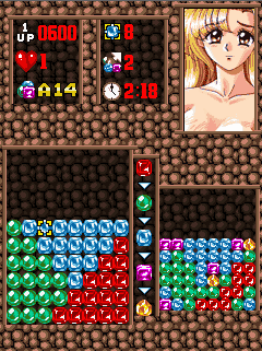 Mobile game Cute Gem Babes - screenshots. Gameplay Cute Gem Babes
