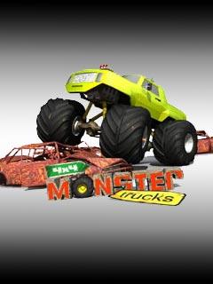 لعبة السباقات الرهيبة Monster Trucks