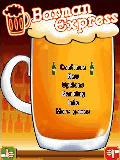 Java game screenshots Barman Express. Gameplay Barman Express