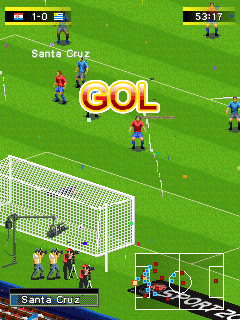 Mobile game Real Football 2010 - screenshots. Gameplay Real Football 2010