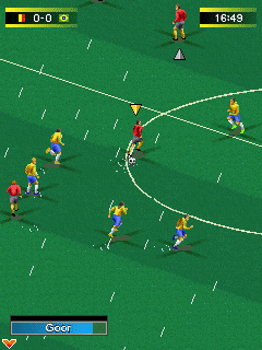 Mobile game Real Football 2010