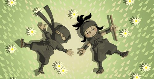 Mini Ninjas - java game for mobile. Mini Ninjas free download.