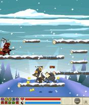 Mobile game Mini Ninjas - screenshots. Gameplay Mini Ninjas