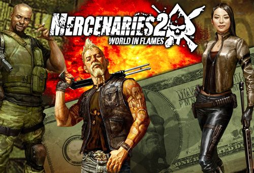 Mercenaries 2: World In Flames - java game for mobile. Mercenaries ...