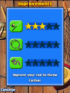Mobile game  Fishing Off The Hook - screenshots. Gameplay  Fishing Off The Hook