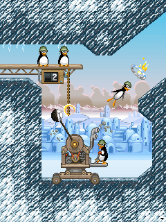 Mobile game Crazy Penguin Catapult - screenshots. Gameplay Crazy Penguin Catapult