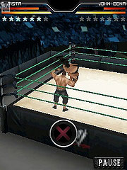 Mobile game WWE SmackDown vs. RAW 2010 - screenshots. Gameplay WWE SmackDown vs. RAW 2010