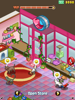 Mobile game My Pet Store - screenshots. Gameplay My Pet Store