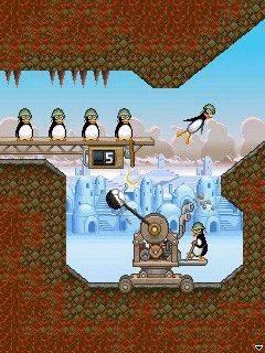 Mobile game Crazy Penguin Catapult 2 - screenshots. Gameplay Crazy Penguin Catapult 2
