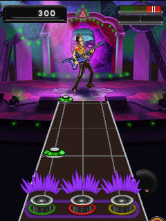 Mobile game Guitar Hero 5 Mobile - screenshots. Gameplay Guitar Hero 5