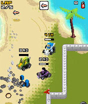 Mobile game LEGO Racers - screenshots. Gameplay LEGO Racers