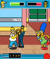 Mobile game The Simpsons Arcade - screenshots. Gameplay The Simpsons Arcade