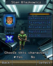 Mobile game Doom II RPG - screenshots. Gameplay Doom II RPG