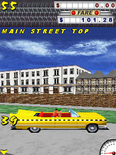 Mobile game Crazy Taxi - screenshots. Gameplay Crazy Taxi