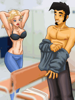 Mobile game Dirty Jack: Sех Sauna II - screenshots. Gameplay Dirty Jack: Sех Sauna II