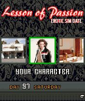 Mobile game Lesson of Passion - screenshots. Gameplay Lesson of Passion