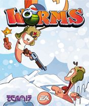 Download free mobile game: Worms 2010 - download free games for mobile phone