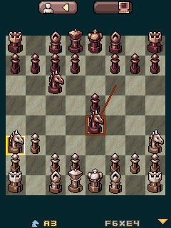 Mobile game Kasparov Chess Deluxe - screenshots. Gameplay Kasparov Chess Deluxe