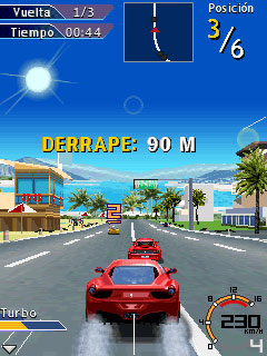 Mobile game Ferrari GT 2 Revolution - screenshots. Gameplay Ferrari GT 2 Revolution