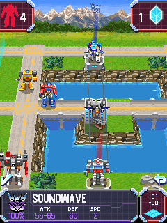 Mobile game Transformers G1: Awakening - screenshots. Gameplay Transformers G1: Awakening