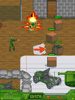 Mobile game Army Men: Mobile Ops - screenshots. Gameplay Army Men: Mobile Ops