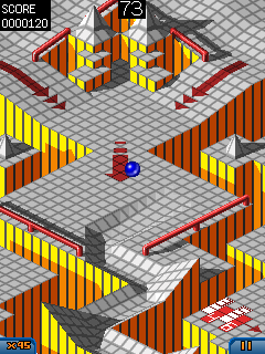 Mobile game Marble Madness - screenshots. Gameplay Marble Madness