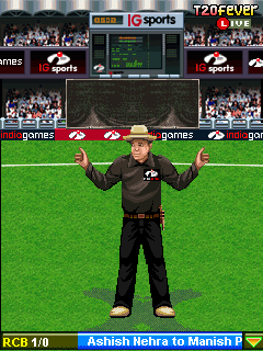 Mobile game DLF IPL 2010 - screenshots. Gameplay DLF IPL 2010