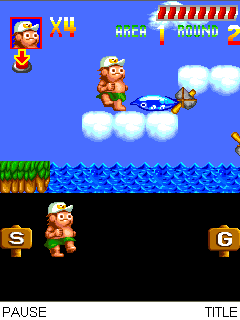 Mobile game Adventure Island - screenshots. Gameplay Adventure Island