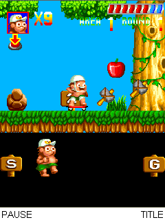 Mobile game Adventure Island - screenshots. Gameplay Adventure Island