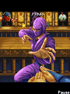 Mobile game Shinobi Tolerance - screenshots. Gameplay Shinobi Tolerance