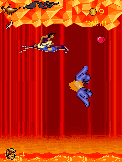 Mobile game Aladdin 2: The new adventure - screenshots. Gameplay Aladdin 2: The new adventure