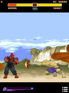 Mobile game Street Fighter: Alpha Warriors\' Dreams - screenshots