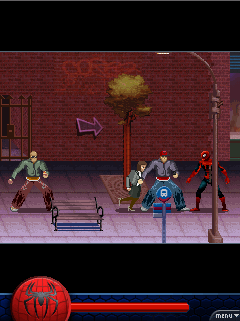 Mobile game Spider-Man 3 - screenshots. Gameplay Spider-Man 3