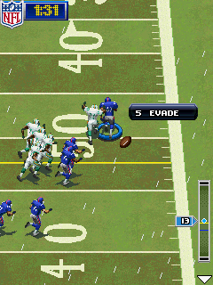Mobile game NFL 2011 - screenshots. Gameplay NFL 2011
