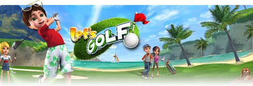 Mobile game Let's Golf - screenshots. Gameplay Let's Golf