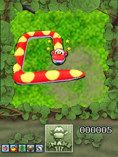 Mobile game Snake 3 3D - screenshots. Gameplay Snake 3 3D