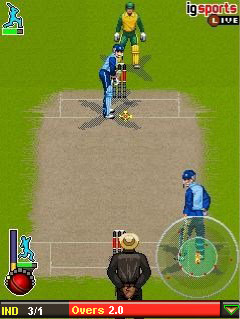 cricket game download for samsung phone